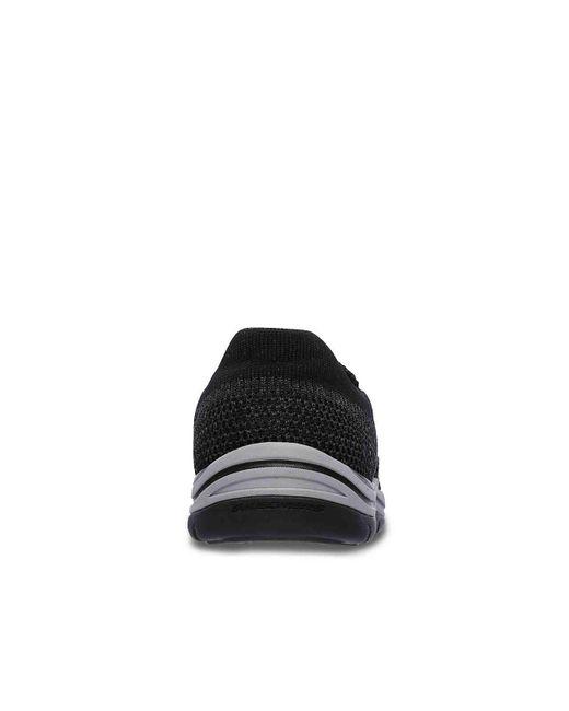 Skechers Black Relaxed Fit Expected Gomel Slip-on for men