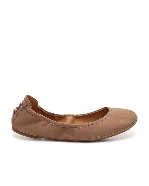 Lucky Brand Echo Ballet Flat in Brown