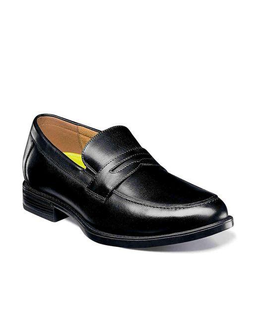 Lyst Florsheim Midtown Penny Loafer In Black For Men