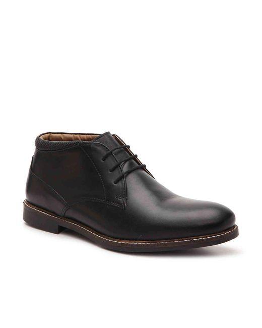 Red Tape Black Barlow Chukka Boot for men
