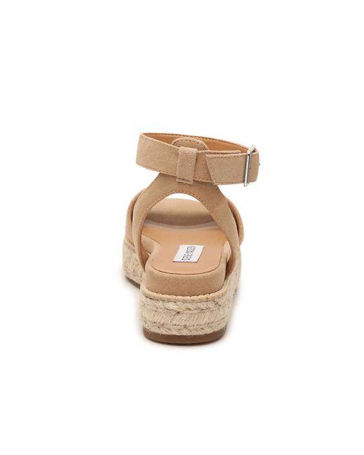 4479f8b56af Women's Natural Gabi Espadrille Platform Sandal