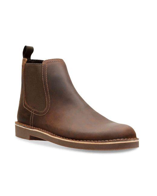 Clarks Brown Bushacre Hill Boot for men