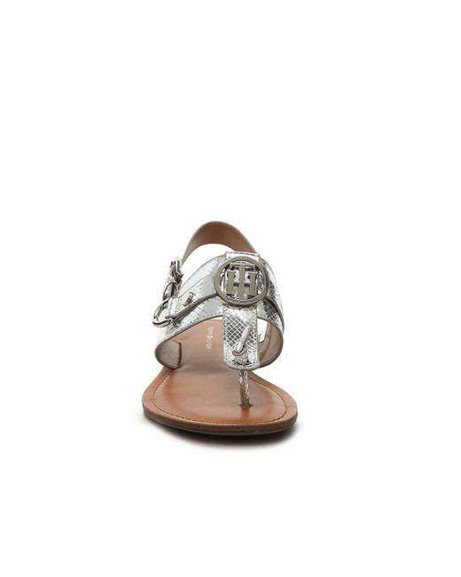 Tommy Hilfiger Luvee Sandal In Metallic Save 51 Lyst