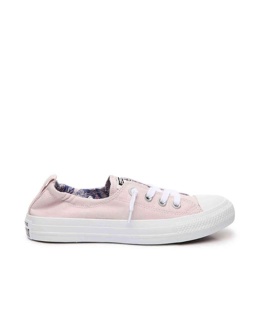 ae44bff69564 ... Converse - Pink Chuck Taylor All Star Shoreline Slip-on Sneaker - Lyst  ...