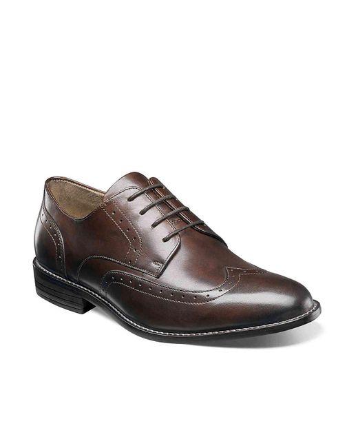Nunn Bush - Brown Slate Wingtip Oxford for Men - Lyst