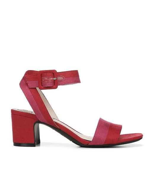 7a4f34f45e6 ... LifeStride - Red Carnival Sandal - Lyst ...