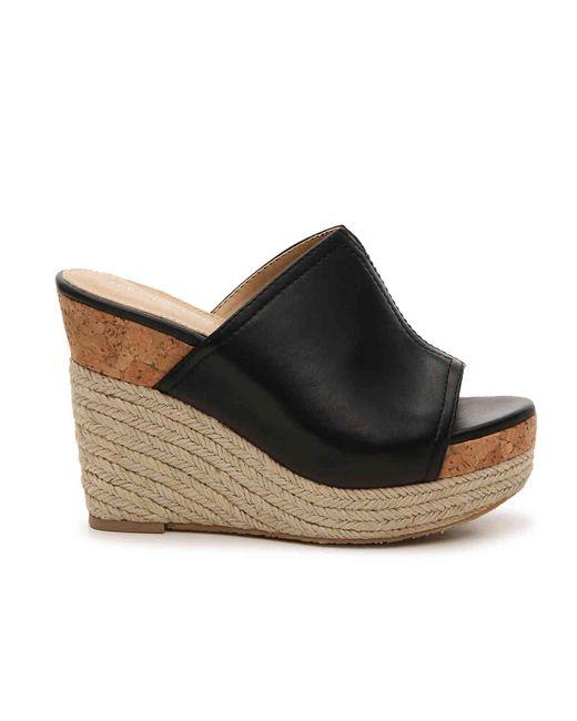 be02e8261b8 Women's Black Cherli Espadrille Wedge Sandal