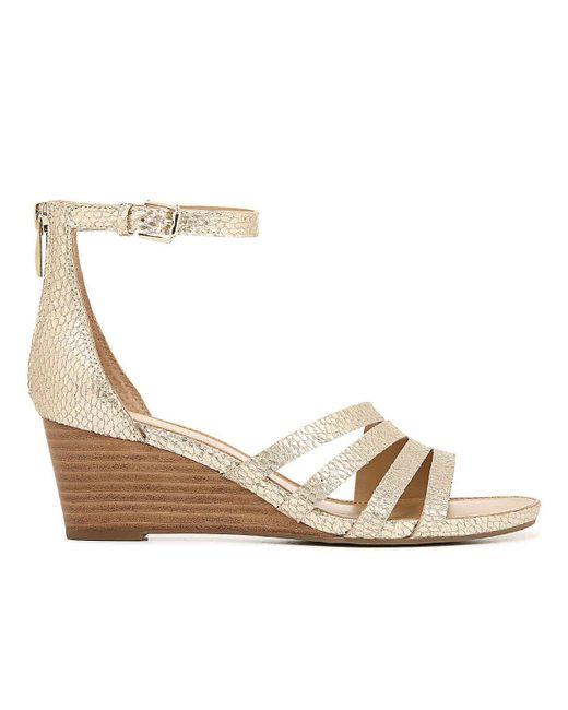 375303910a0 Women's Metallic Dutch Wedge Sandal