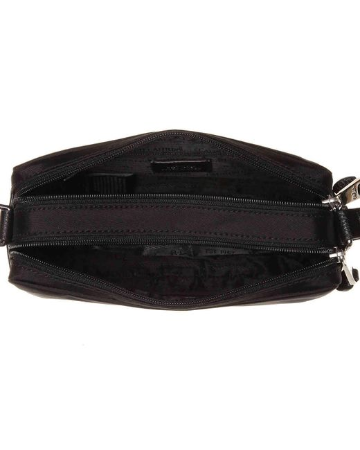 ... Lauren by Ralph Lauren - Black Stockwell Camera Crossbody Bag - Lyst ... 54b25a8863b91