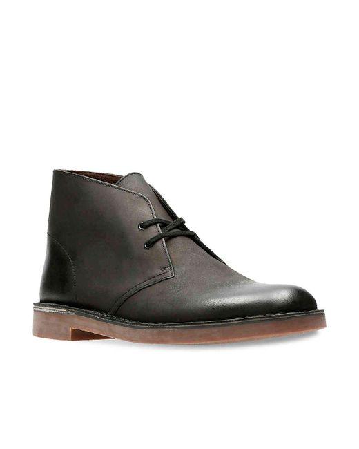 Clarks Black Bushacre 2 Chukka Boot for men