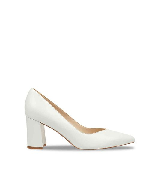 Marc Fisher Caitlin Pump in White