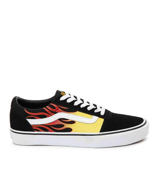 de7cdf81278 ... Vans - Black Ward Lo Sneaker for Men - Lyst ...