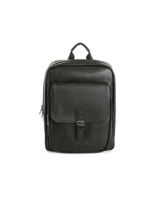 Kenneth Cole Reaction Black Modern Pack-nology Backpack for men