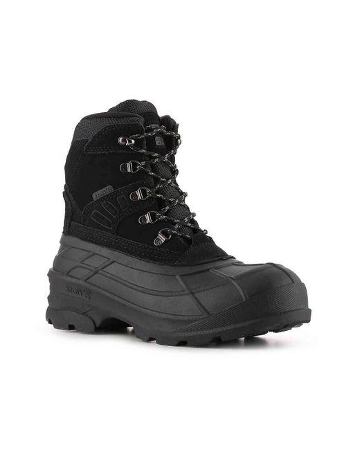 6b8992b3a26 Men's Black Fargo Pack Snow Boot