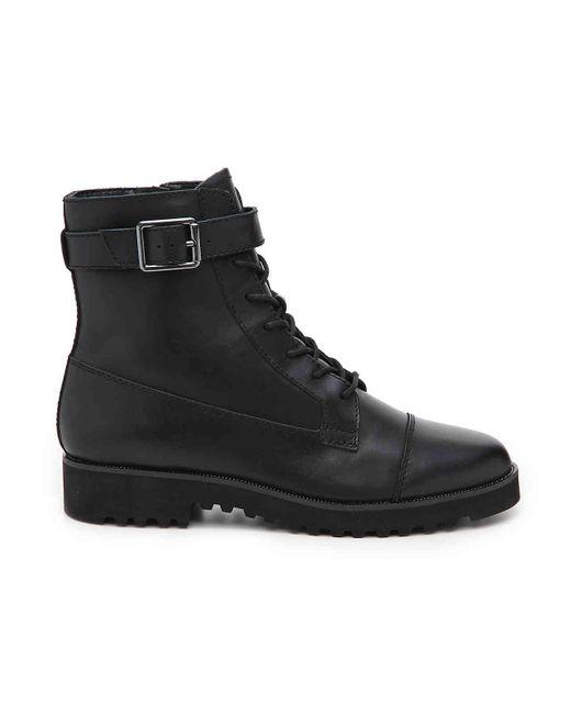0b35f1c29074 ... Franco Sarto - Black Carlson Combat Boot - Lyst ...