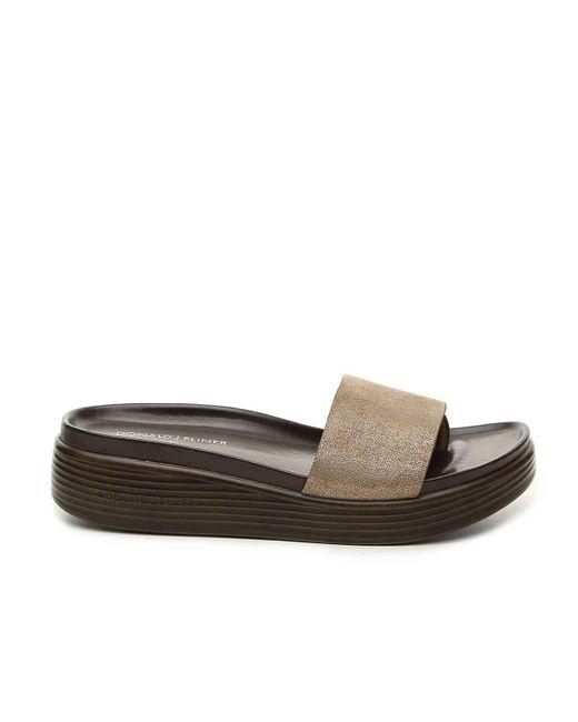 3141ad6b4e0 ... Donald J Pliner - Multicolor Fiji Slide Sandal - Lyst ...