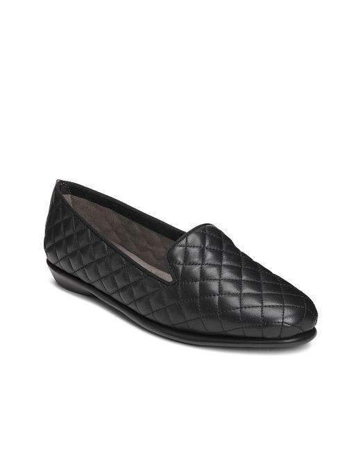 Aerosoles Black Betunia Loafer