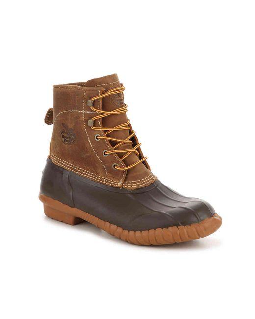 Georgia Boot Brown Marshland Duck Boot for men