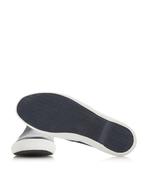 thierry' Canvas Contrast Slip On