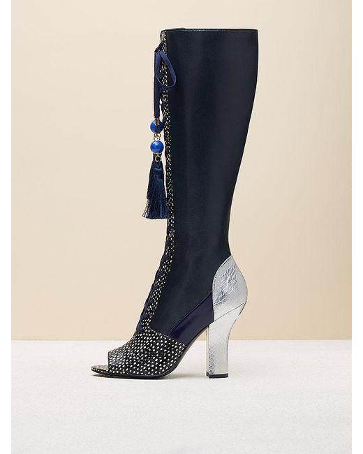 Diane von Furstenberg - Blue Suki Boots - Lyst