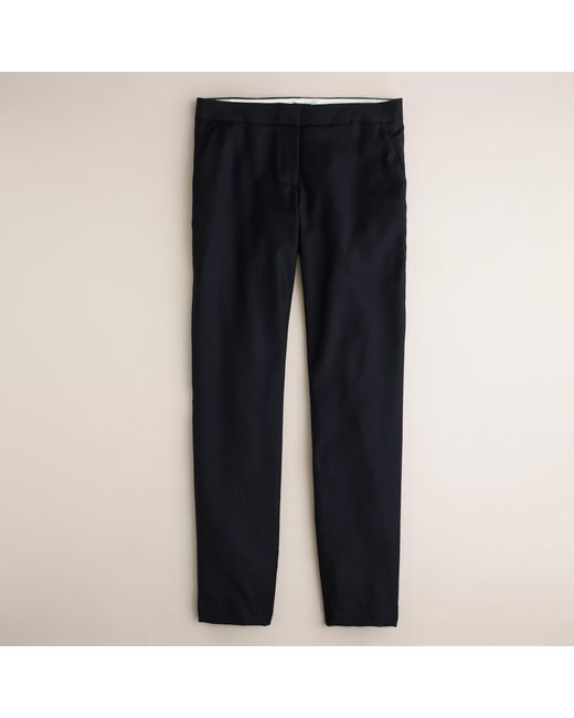 J.Crew | Blue Tall Paley Pant In Super 120s Wool | Lyst