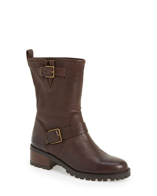 Cole Haan | Brown 'hemlock' Moto Boot | Lyst