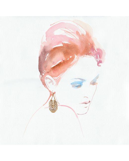 Lulu Frost   Metallic Goldtone Drift Earring - Large   Lyst