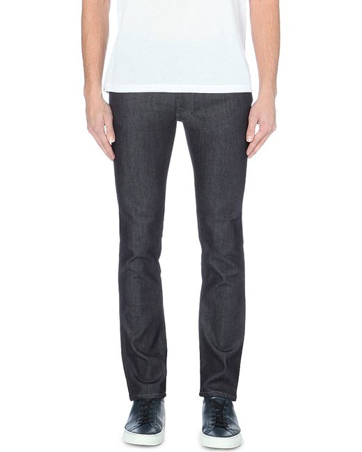 nudie jeans thin finn slim fit jeans in blue for men lyst. Black Bedroom Furniture Sets. Home Design Ideas