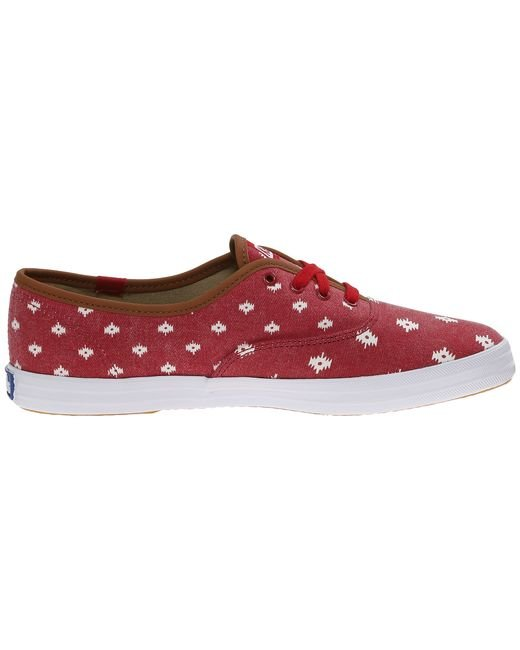 Keds | Red Champion Native Dot | Lyst