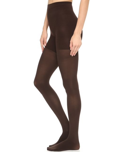 Spanx | Brown Luxe Leg Tights - Bittersweet | Lyst