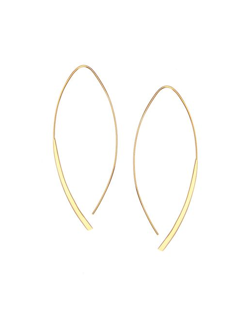Lana Jewelry | Metallic 14k Small Arch Hoop Earrings | Lyst