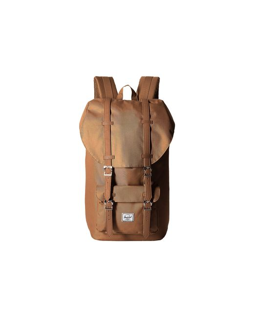 Herschel Supply Co. | Brown Little America for Men | Lyst