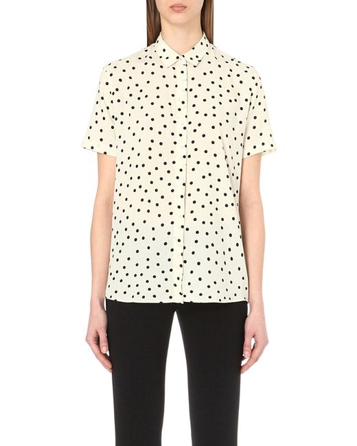 Paul smith black label Polka Dot-print Woven Shirt in ...