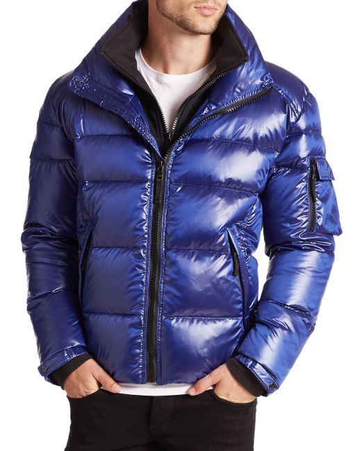 Sam. | Blue Racer Quilted Down Jacket | Lyst
