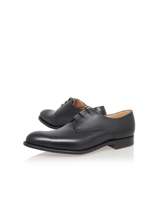Church's | Black Oslo C Derby Leather Brogues for Men | Lyst