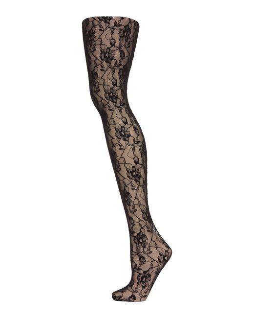 Jonathan Aston | Black Vintage Legs Sweet Roses Tights | Lyst