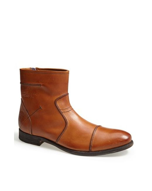 Blackstone | Brown 'am 19' Zip Boot for Men | Lyst
