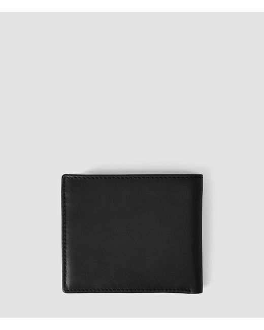 AllSaints | Black Blyth Wallet for Men | Lyst