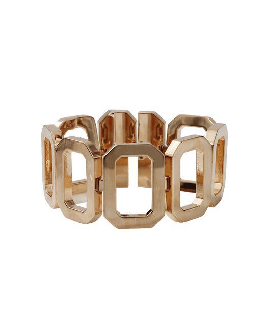 Rebecca   Metallic Elizabeth Square Chunky Bracelet   Lyst