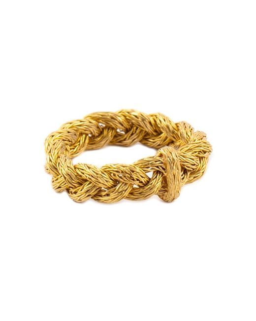 Marie-hélène De Taillac | Metallic Braided Ring | Lyst