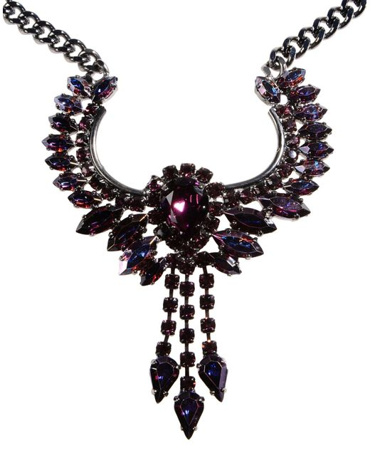 Emanuele Bicocchi   Purple Necklace   Lyst