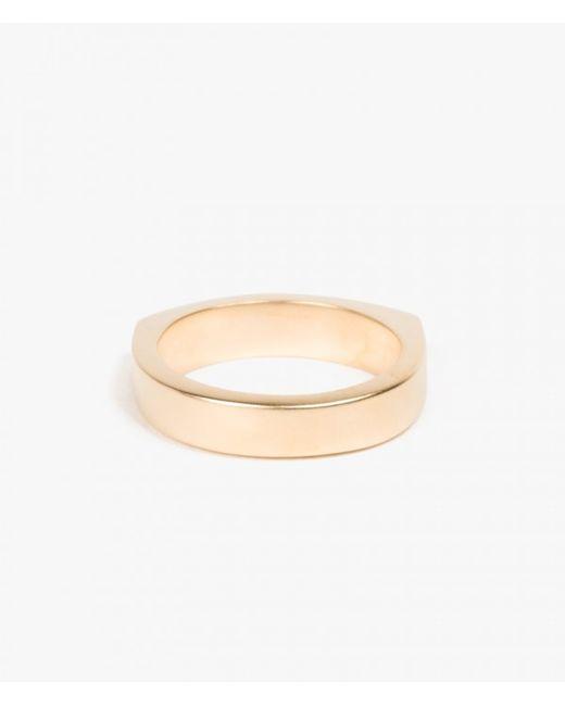 Miansai | Metallic Round Top Ring | Lyst