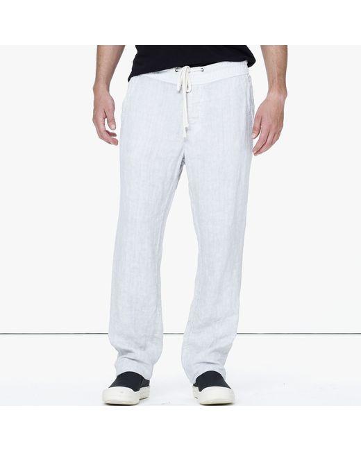 James Perse | Metallic Linen Utility Pant for Men | Lyst
