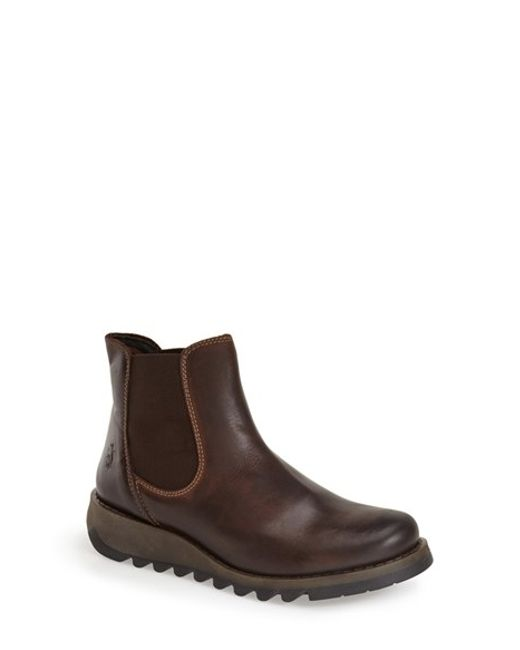 Fly London | Brown 'salv' Chelsea Boot | Lyst