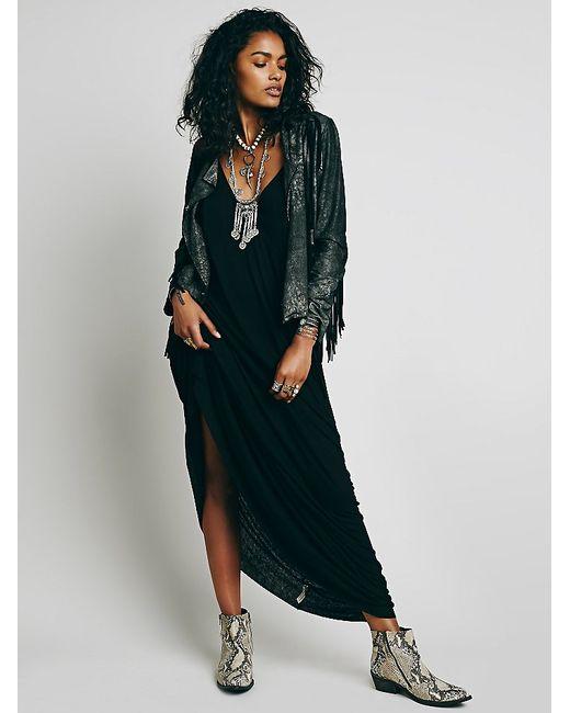 Free People | Black Bright Lights Dress | Lyst