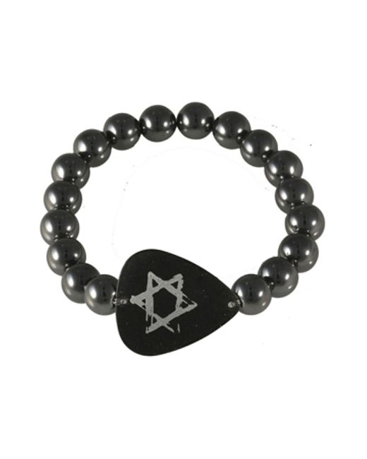 Electric Picks | Black 'free Fallin' Bracelet | Lyst
