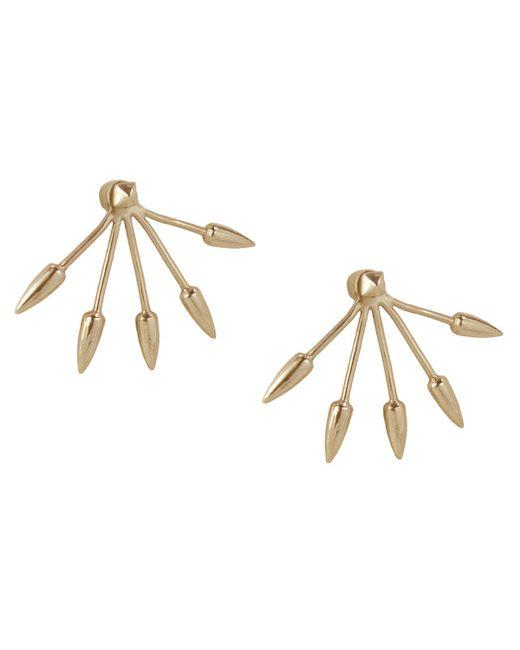 Pamela Love | Yellow 5 Spike Earrings | Lyst