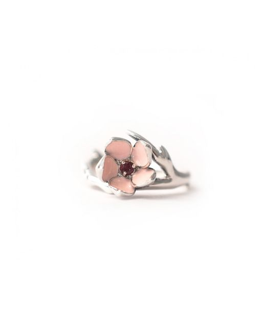 Shaun Leane | Red Single Cherry Blossom Ring Pink | Lyst