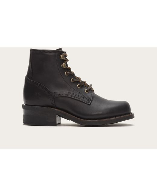 Frye   Black Engineer Lace Up   Lyst