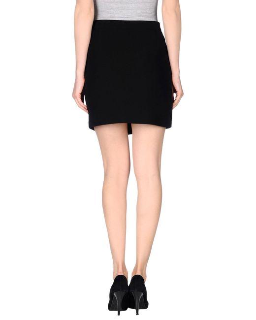 iro mini skirt in black lyst. Black Bedroom Furniture Sets. Home Design Ideas